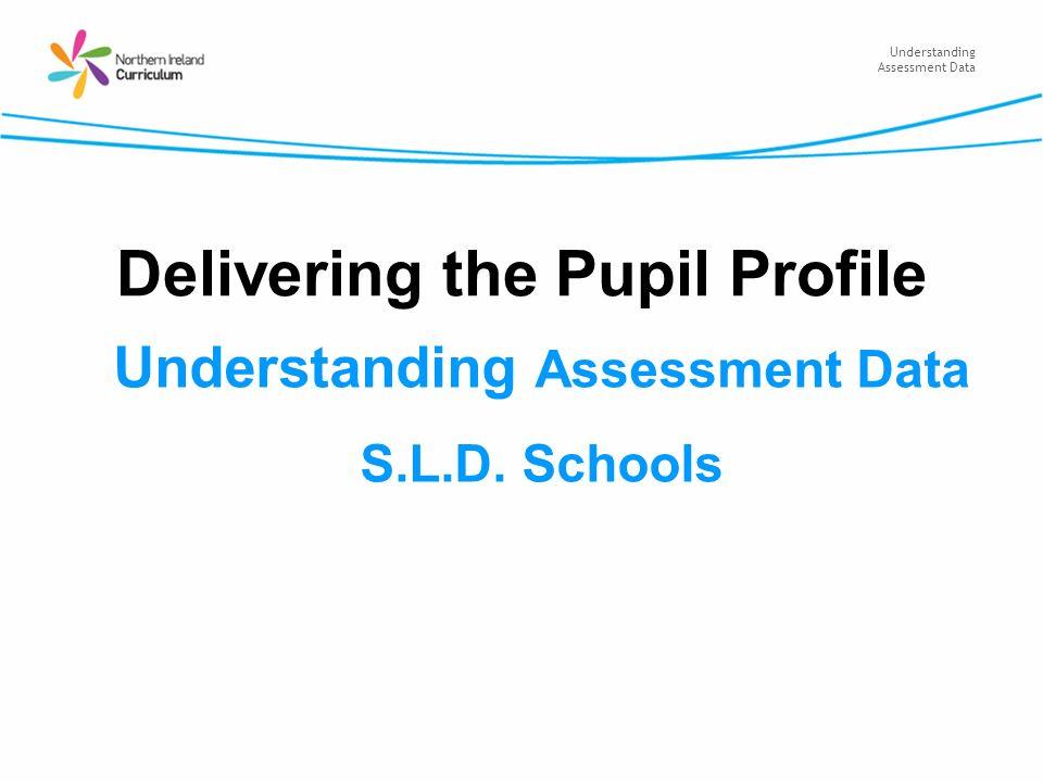 Understanding Assessment Data Delivering the Pupil Profile Understanding Assessment Data S.L.D. Schools
