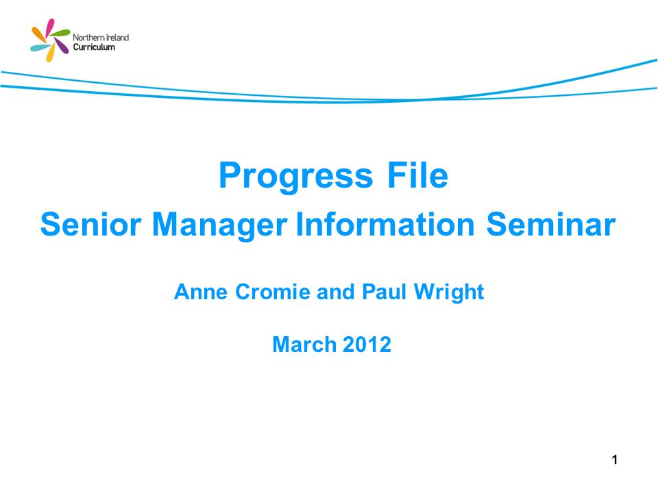 Session 5 Activity Managerial considerations for effective use of Progress File 82