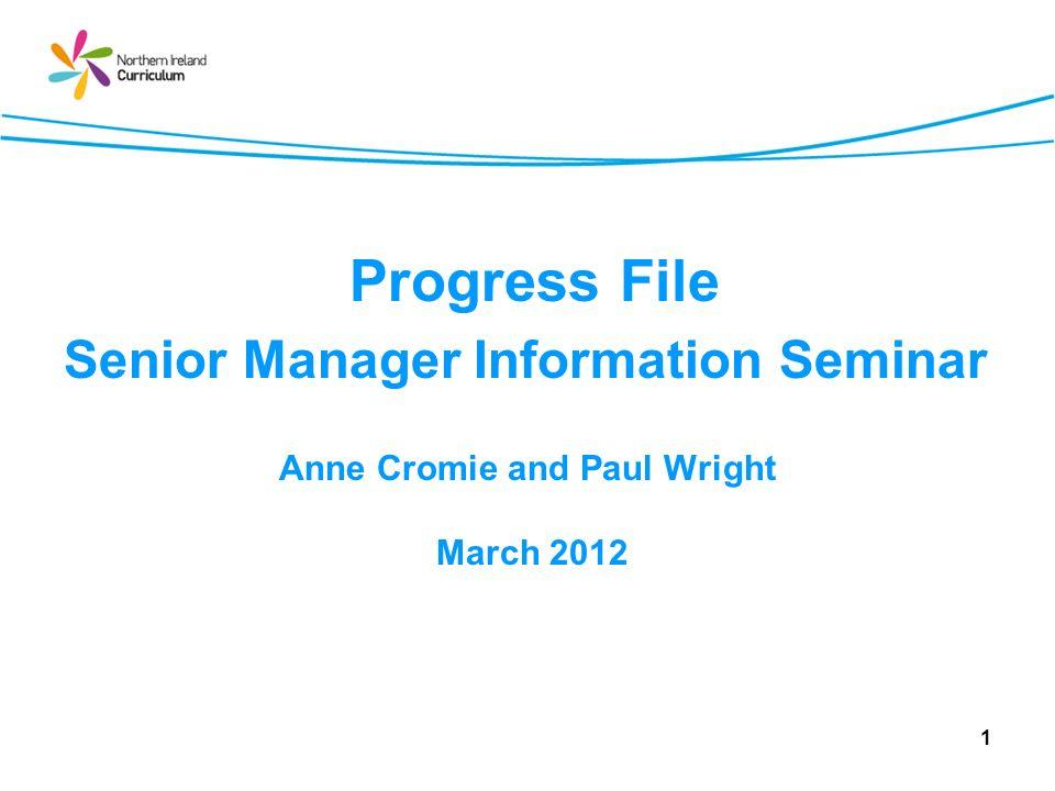 Managing e-progress file in Schools