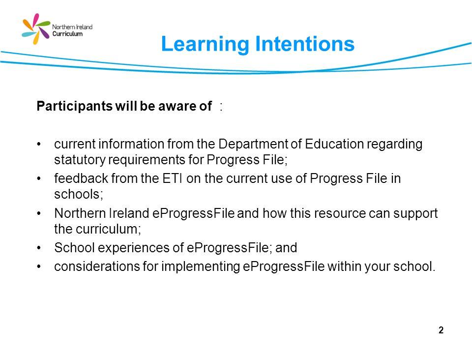 Curriculum Integration 23 Delivering the Entitlement Framework-Guidance for Schools October 2006; p19