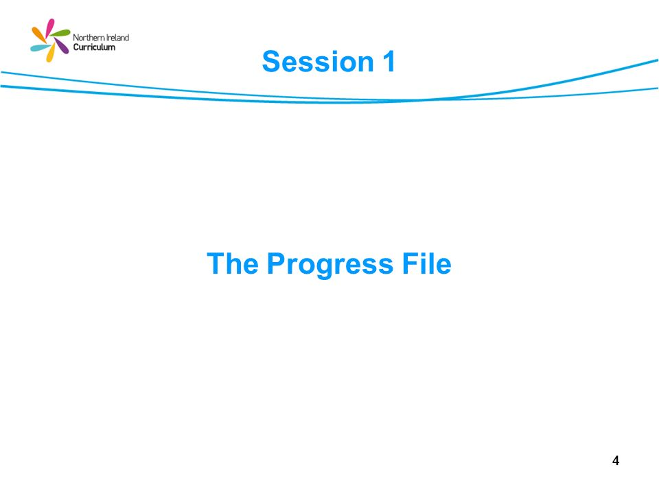 Session 2 The e-Progress File Project: Development of an e-Progress File for pupils in Northern Ireland.