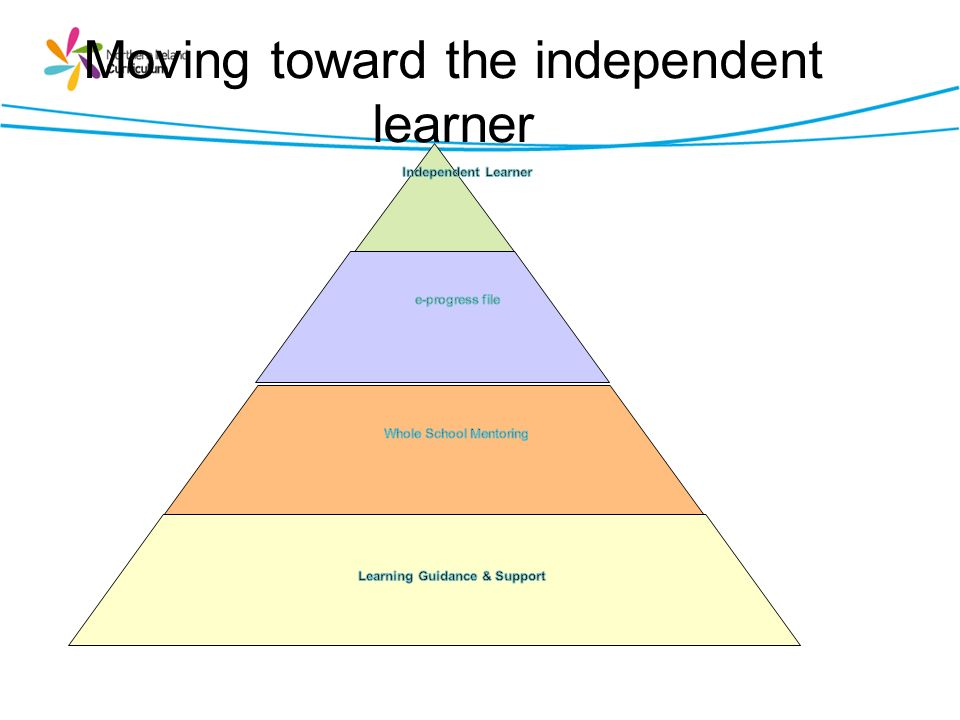 Moving toward the independent learner