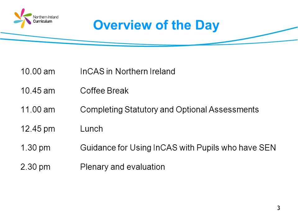 4 InCAS in Northern Ireland Session 1
