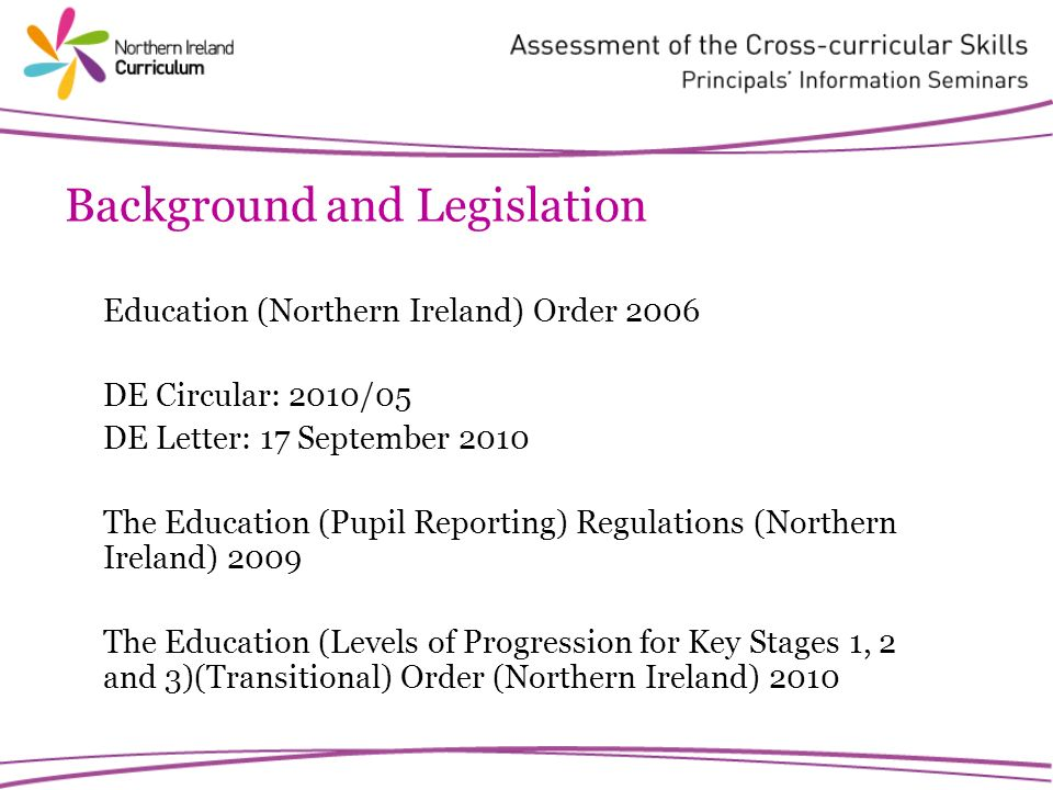 Characteristics of Moderation Rolling programme commencing 2012/2013 Guidance and support materials CCEA Assessment Tasks Tasks embedded in ongoing learning and teaching Possibility of accredited schools
