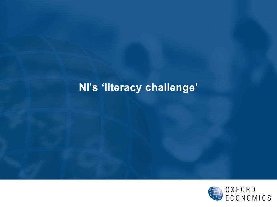 NIs literacy challenge