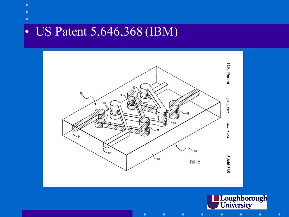 US Patent 5,646,368 (IBM)