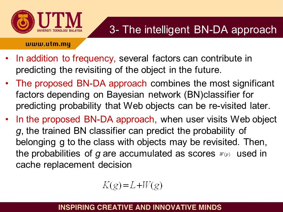 In addition to frequency, several factors can contribute in predicting the revisiting of the object in the future.