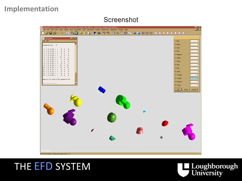 Any questions or comments on the EFD system ? THE EFD SYSTEM