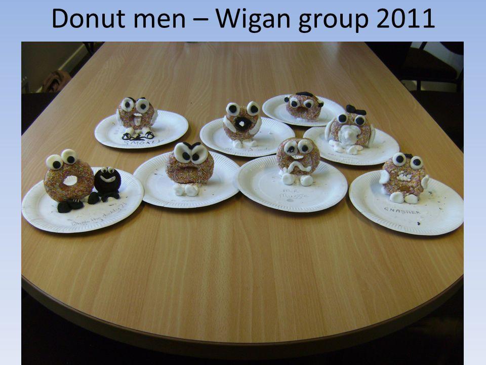 Donut men – Wigan group 2011