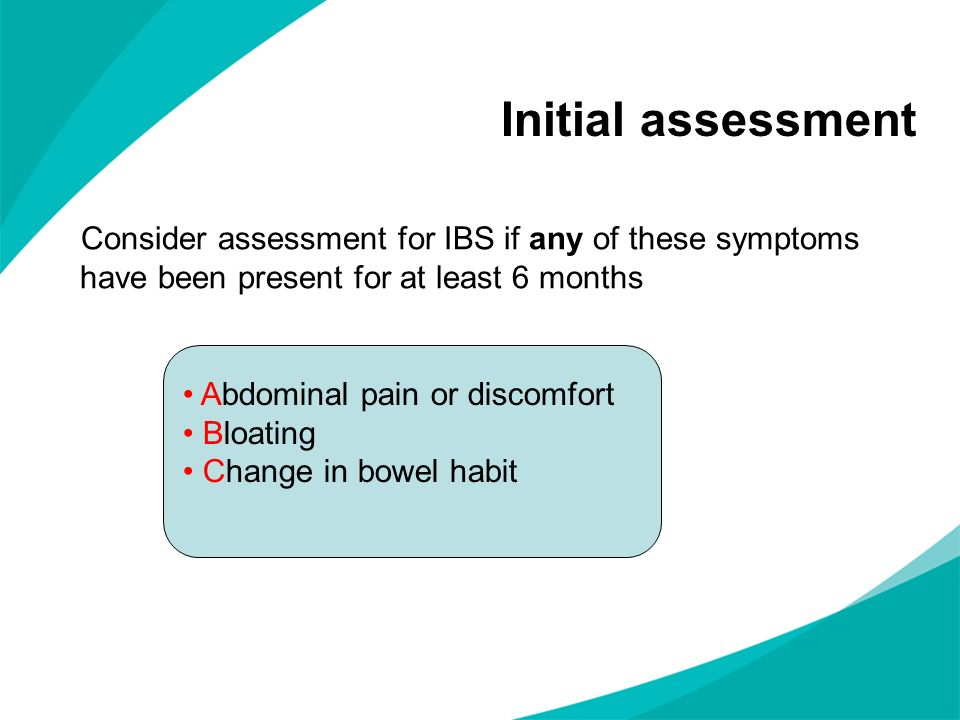 Discussion What does our primary care IBS pathway look like.