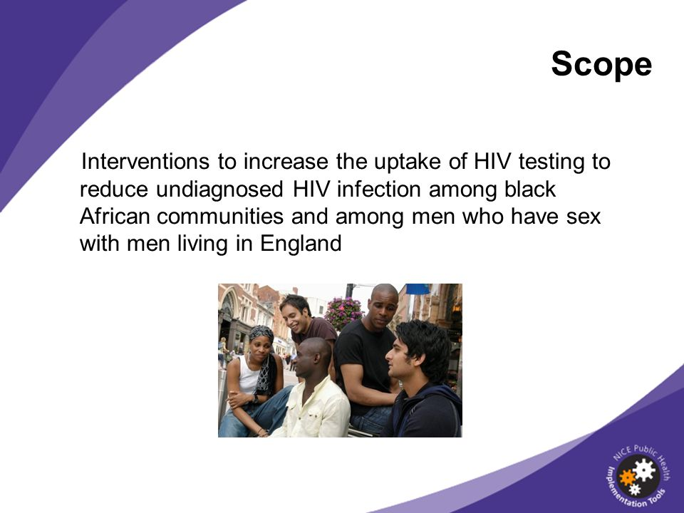 Offering and recommending a HIV test should be within the existing competencies of health professionals.