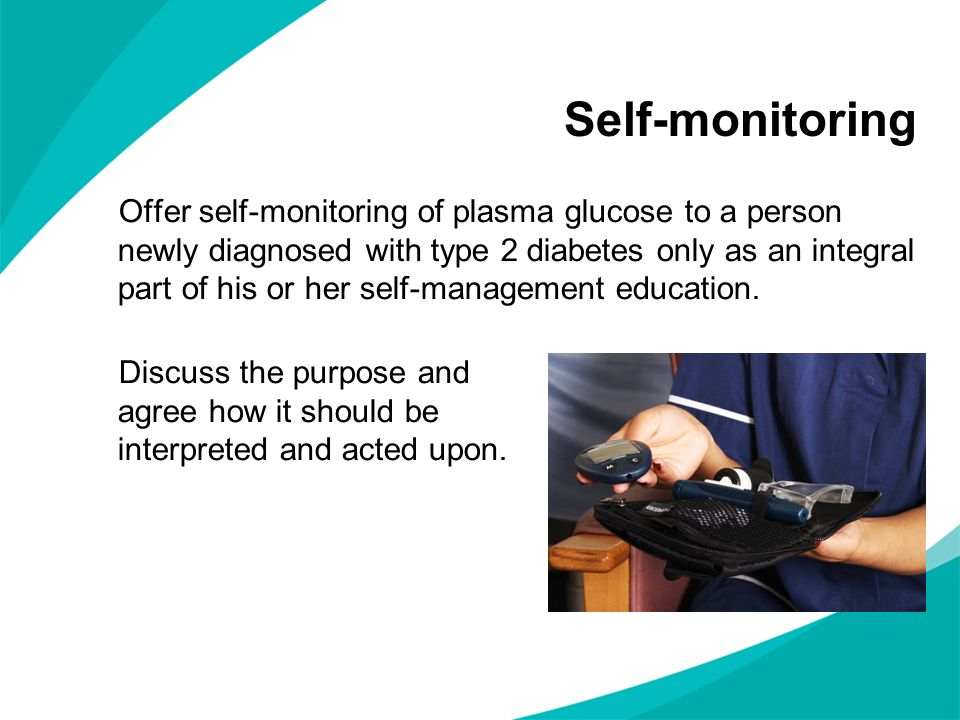 Starting insulin therapy When other measures no longer achieve adequate blood glucose control, discuss the benefits and risks of insulin therapy.