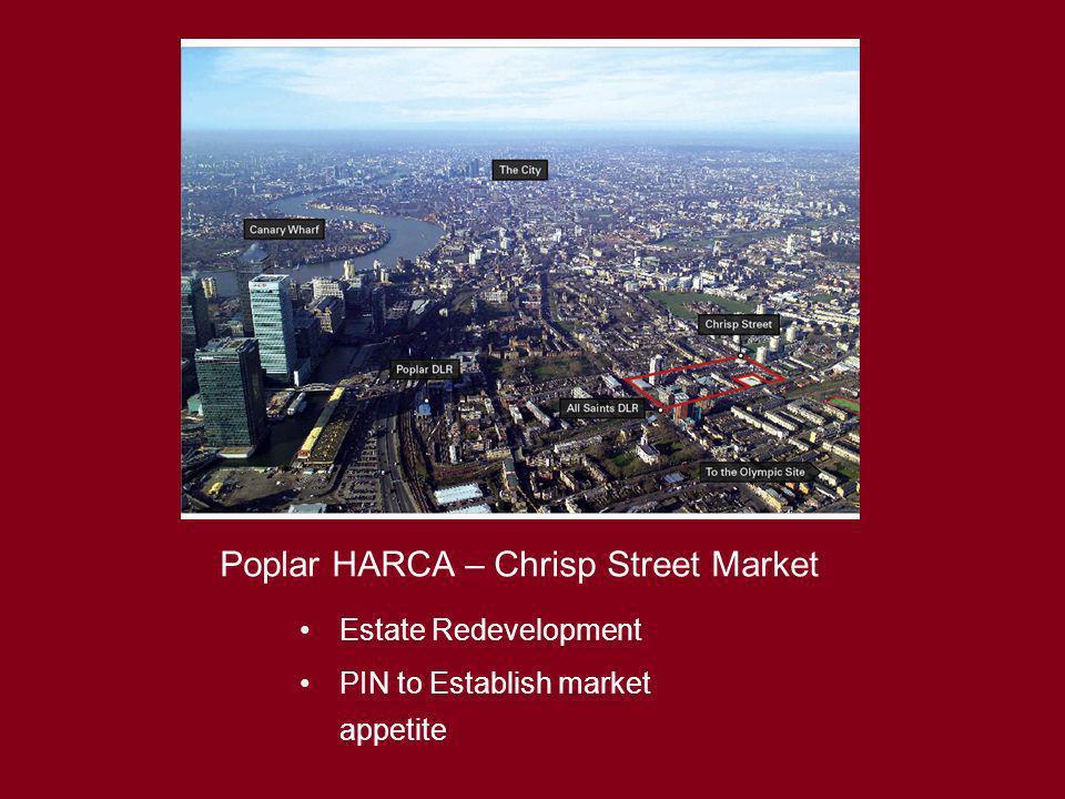 Poplar HARCA – Chrisp Street Market Estate Redevelopment PIN to Establish market appetite