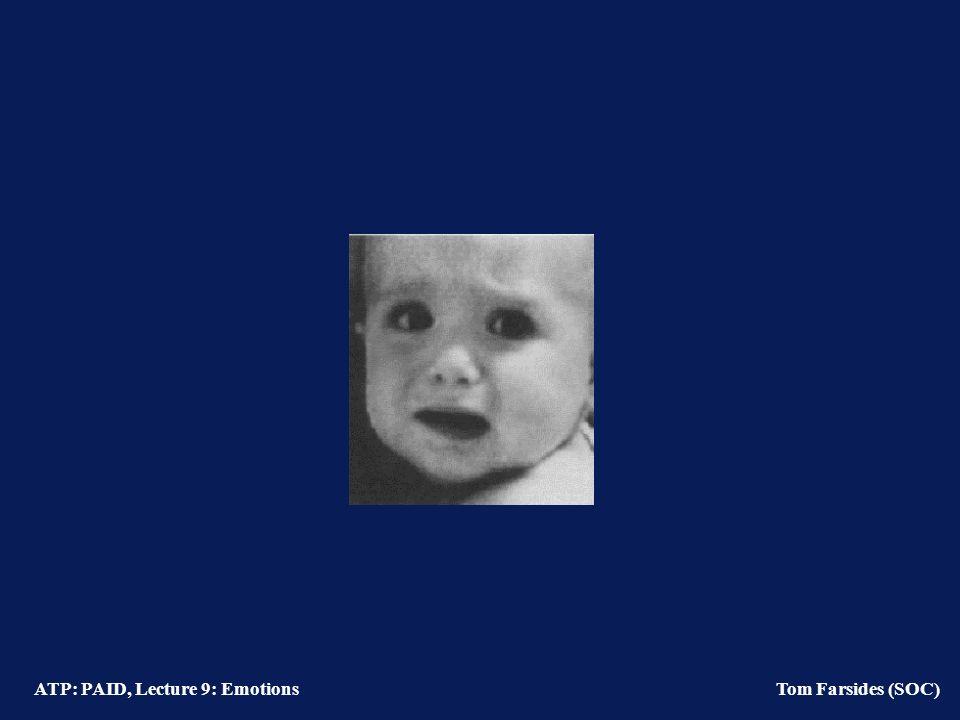 ATP: PAID, Lecture 9: Emotions Tom Farsides (SOC) Lazarus & Folkman (1984)