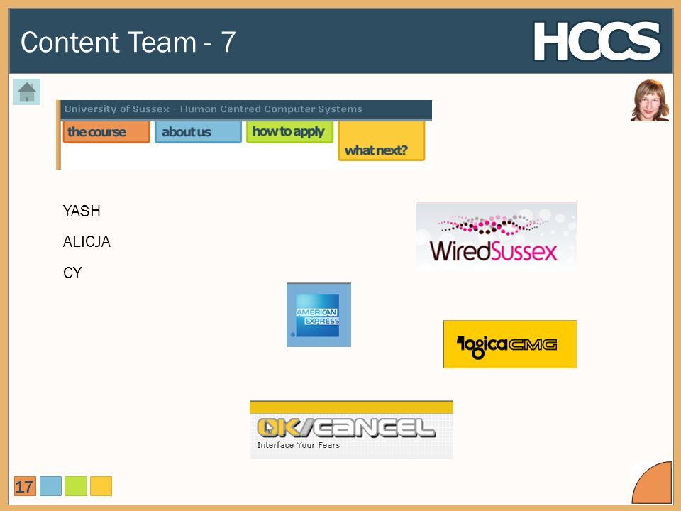 Content Team - 7 17 YASH ALICJA CY