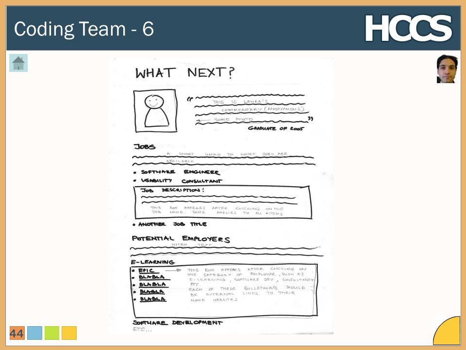Coding Team - 6 44