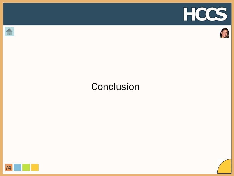 74 Conclusion