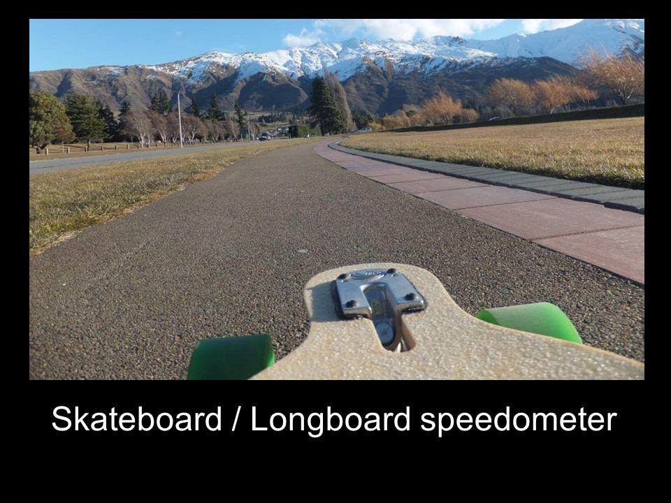 Skateboard / Longboard speedometer