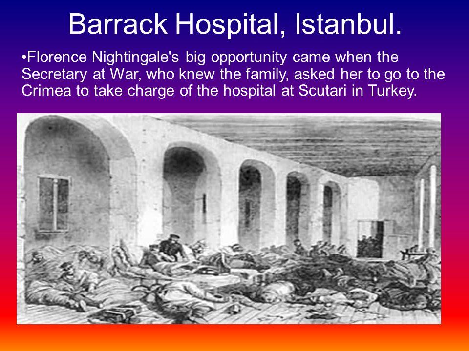 Barrack Hospital, Istanbul.