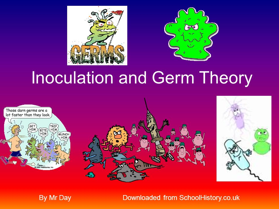 Lesson Objectives To learn about the development of inoculation and germ theory (micro biology) to medicine and assess its importance.