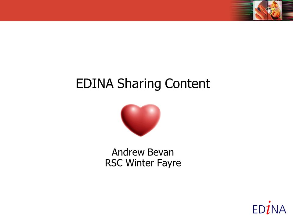 Sharing Short presentation to highlight: Free content available via established resources (NewsFilm Online, Film & Sound Online, Go-Geo!, Jorum), New ones (JorumOpen, ShareGeo Open, OpenDepot) ….and one in development (Mediahub) To see how you can use these sites to share your content or benefit from others who have shared theirs
