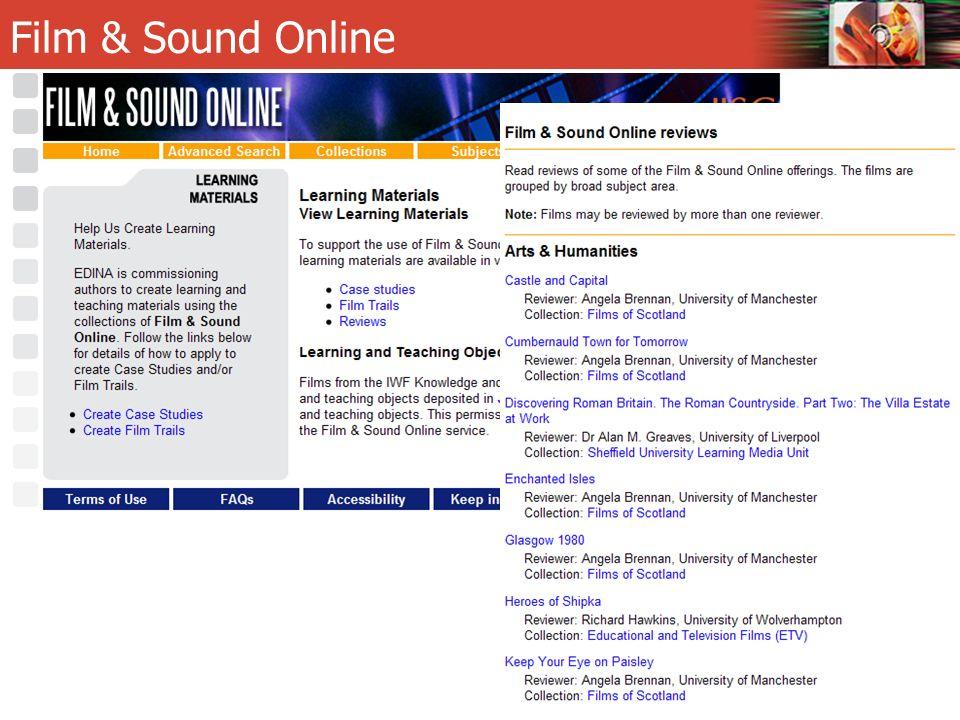 Film & Sound Online