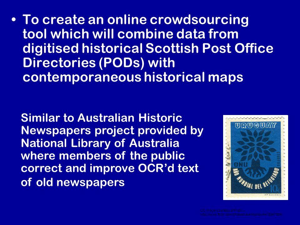 AddressingHistory Online Tool & API – http://addressinghistory.edina.ac.uk NOW LIVE!