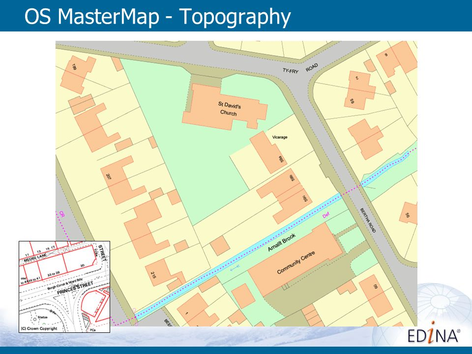 OS MasterMap - Topography