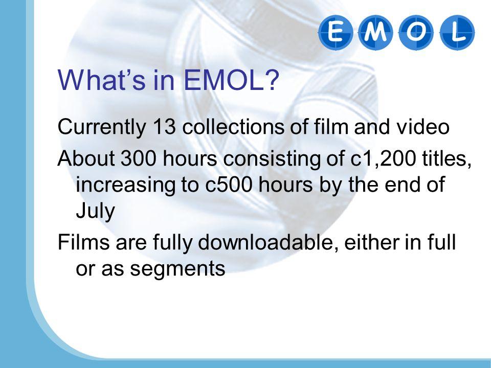 Whats in EMOL.