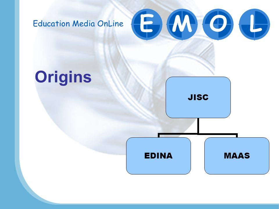 JISC EDINAMAAS Origins