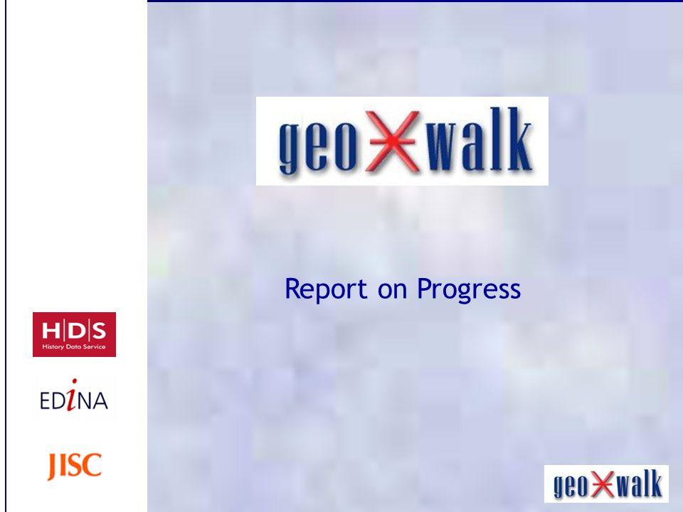Report on Progress