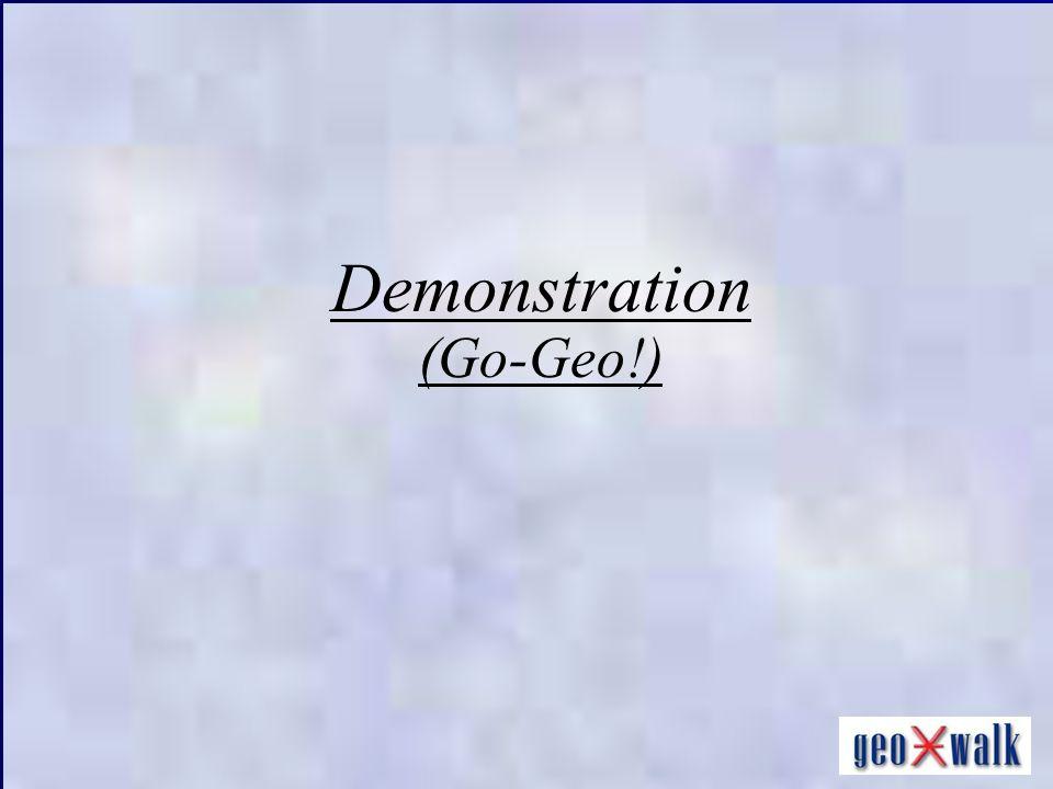Demonstration (Go-Geo!)
