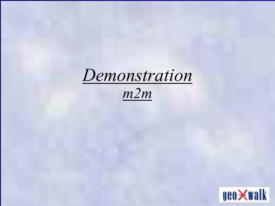 Demonstration m2m
