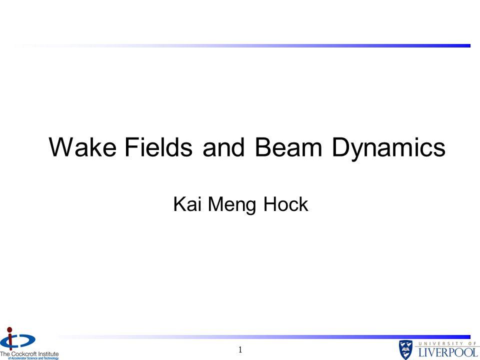 1 Wake Fields and Beam Dynamics Kai Meng Hock