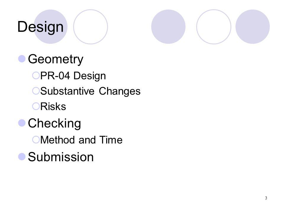 24 y x Design Geometry – R Angles of cut 22.5° 4 Sectors