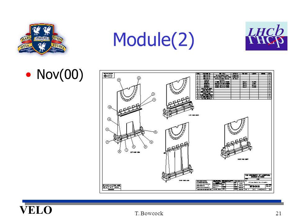 VELO T. Bowcock21 Module(2) Nov(00)