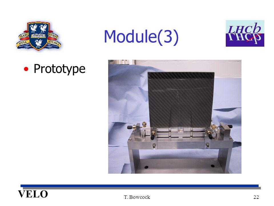 VELO T. Bowcock22 Module(3) Prototype
