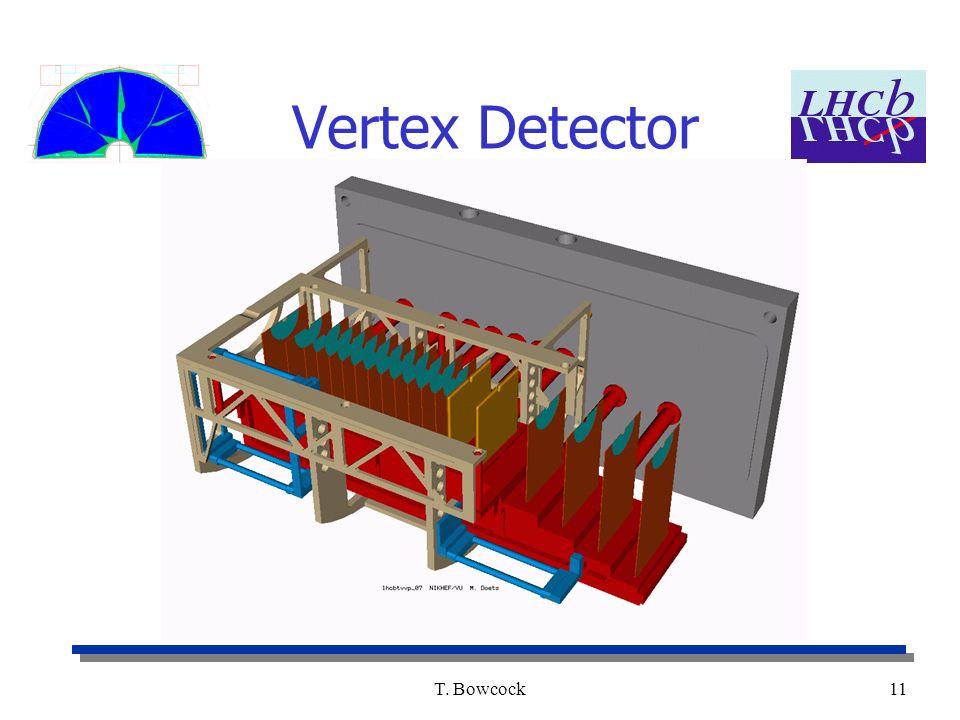 T. Bowcock11 Vertex Detector
