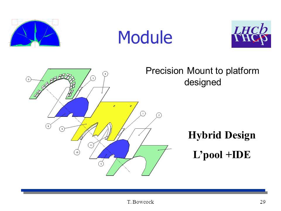 T. Bowcock29 Module Precision Mount to platform designed Hybrid Design Lpool +IDE