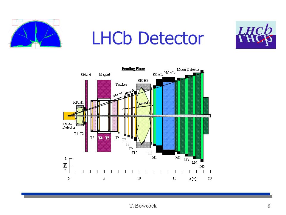 T. Bowcock8 LHCb Detector