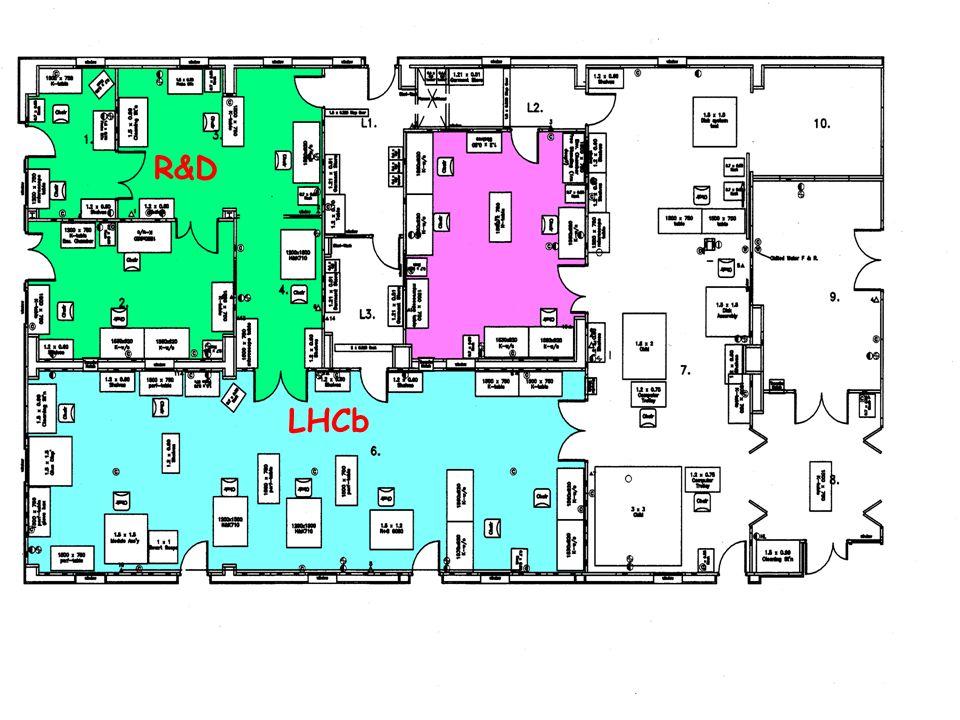 Production Facilities LHCb R&D