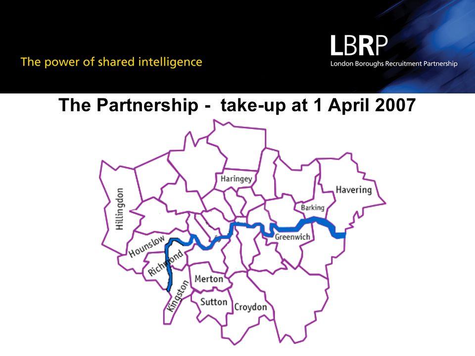 The Partnership - take-up at 1 April 2007