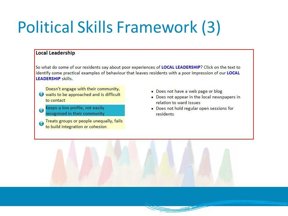 Political Skills Framework (3)