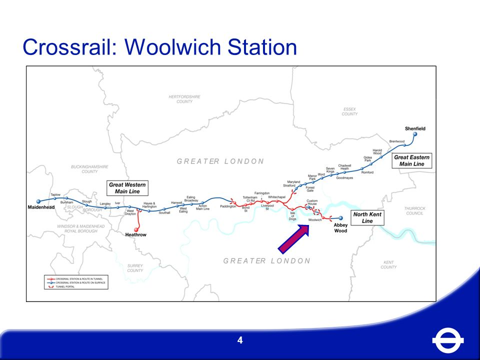 Crossrail: Woolwich Station 4