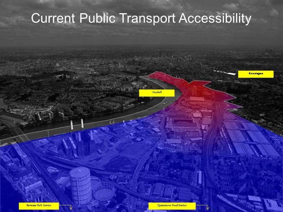 4/22/201416 October 20066 Current Public Transport Accessibility