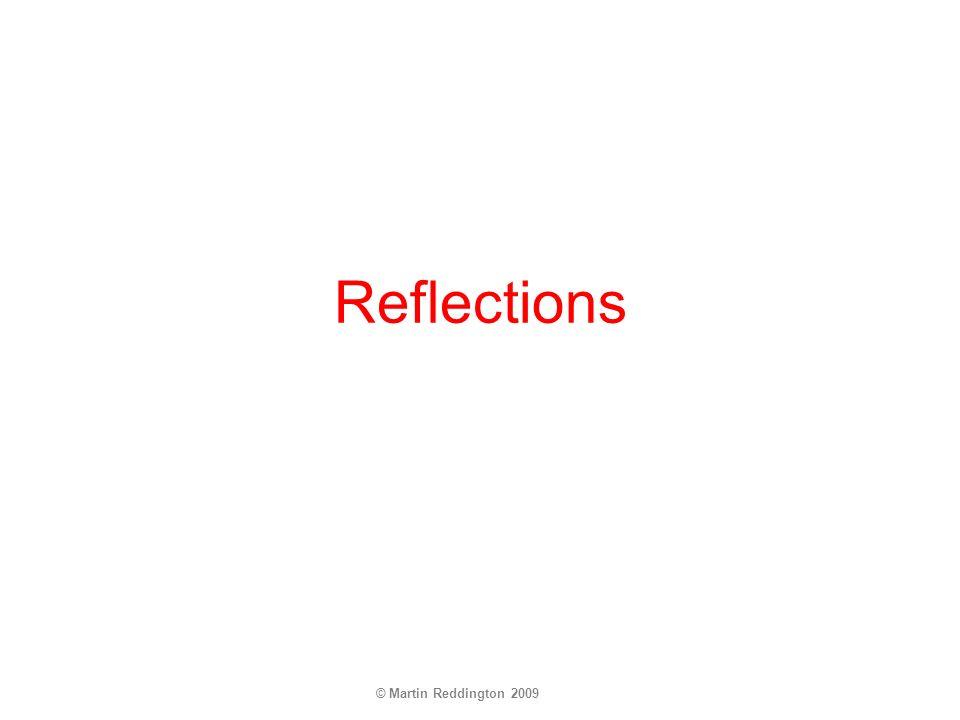 © Martin Reddington 2009 Reflections