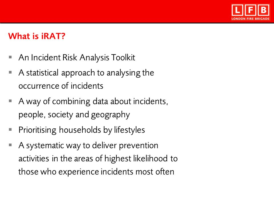 What is iRAT.