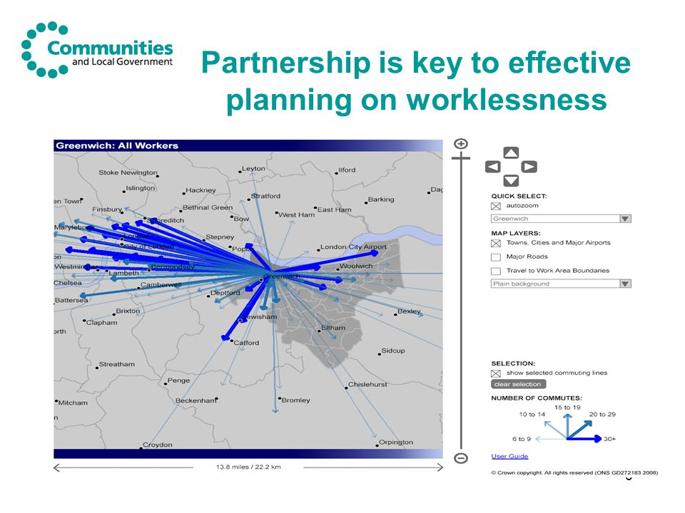 6 Partnership is key to effective planning on worklessness