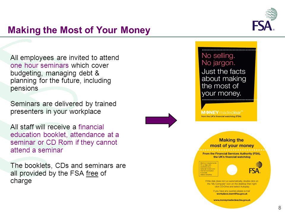 Example of presentation slides