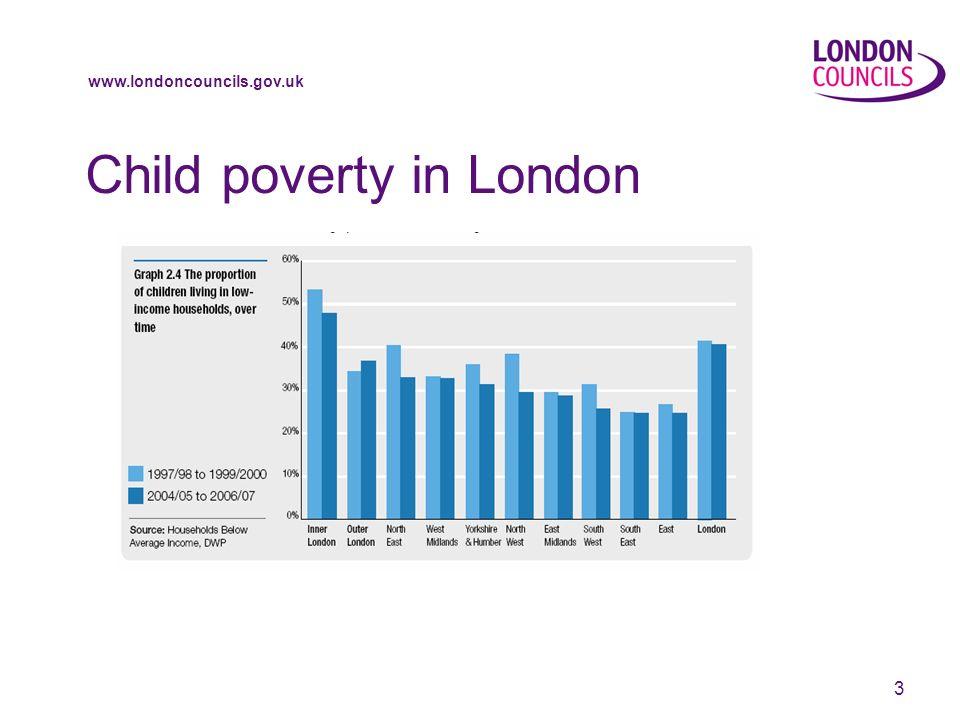 www.londoncouncils.gov.uk 3 Child poverty in London